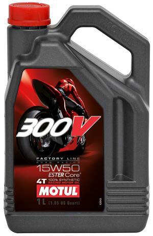 Моторное масло MOTUL 300 V 4T FL Road Racing 10w-40 1 л - фото 9