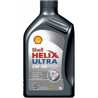 Масла моторные Моторное масло SHELL Helix Ultra 5W-40 (1л.)  арт. HELIXULTRA5W40SNCFA3B41L
