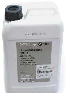bmw Тормозная жидкость BMW DOT 4 (5л.) BMW 83132405978