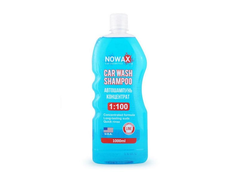 Автошампуни Шампунь NOWAX CAR WASH SHAMPOO 1л  арт. NX01000