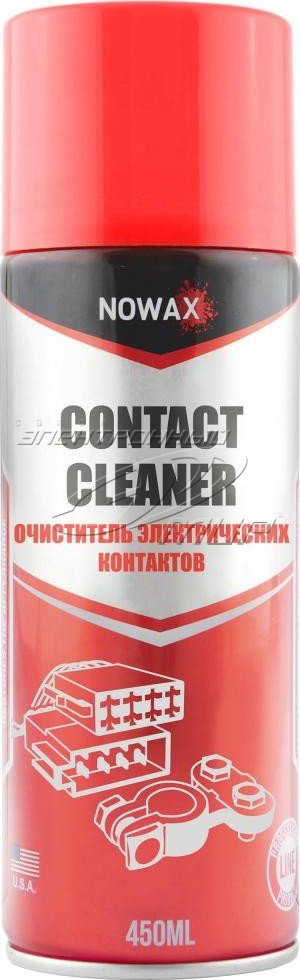 Смазки Смазка NOWAX CONTACT CLEANER 450 мл  арт. NX45018