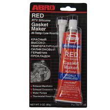 abro Герметик прокладок красный ABRO (32гр) ABRO 11ABCH