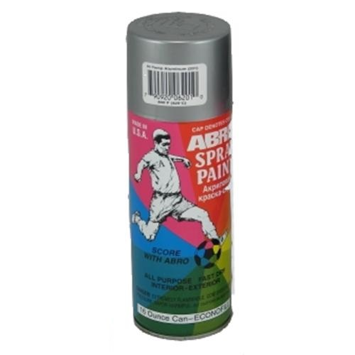 abro Краска алюминиевая высокотемпературная аэрозоль ABRO (473мл.) ABRO PT201