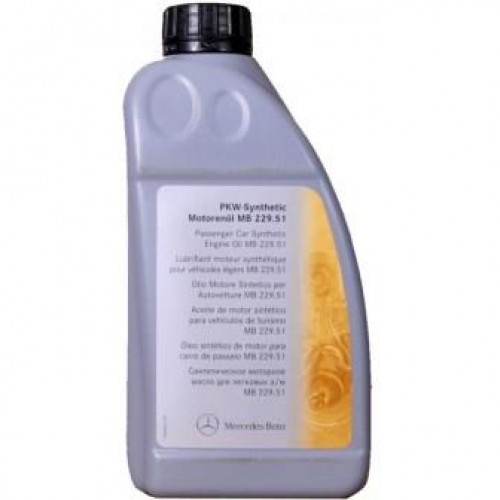Масла моторные Моторное масло MERCEDES-BENZ Engine Oil 5W-30 (229.51) (1л.)  арт. 0009899701BAA6
