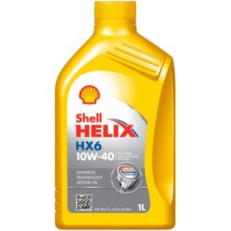 Масла моторные Моторное масло SHELL Helix HX6 10W-40 (1л.)  арт. 550039790