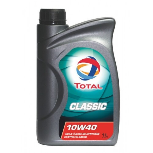 Масла моторные Моторное масло TOTAL Classic SAE 10W-40 (1л.)  арт. 166215