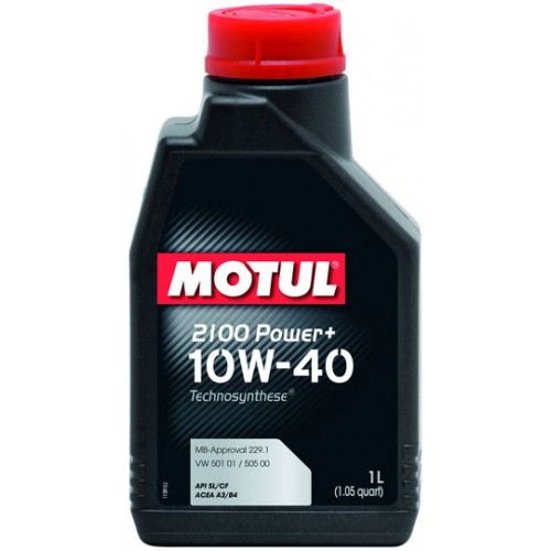 Масла моторные Моторное масло MOTUL 2100 POWER+ 10W40 (1л.)  арт. 397701