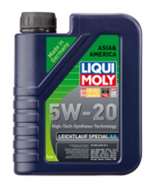 Масла моторные Моторное масло LIQUI MOLY SPECIAL TEC AA 5W-20 (1л.)  арт. 7620