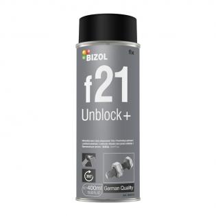 bizol Растворитель ржавчины с молибденом BIZOL Unblock+ f21 (0,4л.) BIZOL B80010