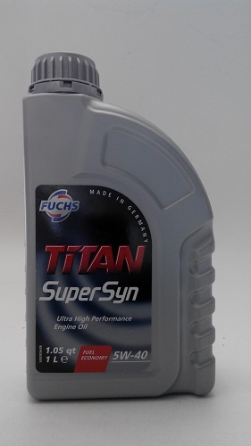 Моторное масло FUCHS TITAN Supersyn 5W-40 1л. FUCHS TITANSUPERSYN5W401