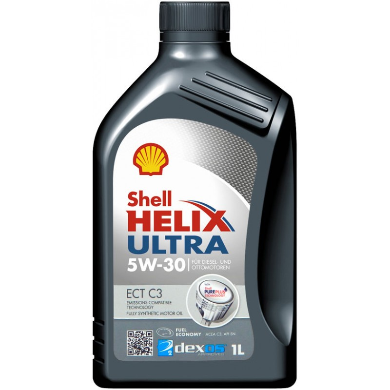 Моторное масло SHELL Helix Ultra ECT C3 5W-30 1л. SHELL 550042830