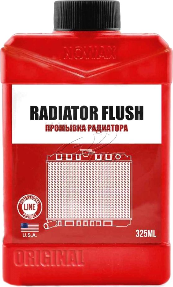 Промывка радиатора Промывка радиатора NOWAX RADIATOR FLASH 325 мл  арт. NX32540