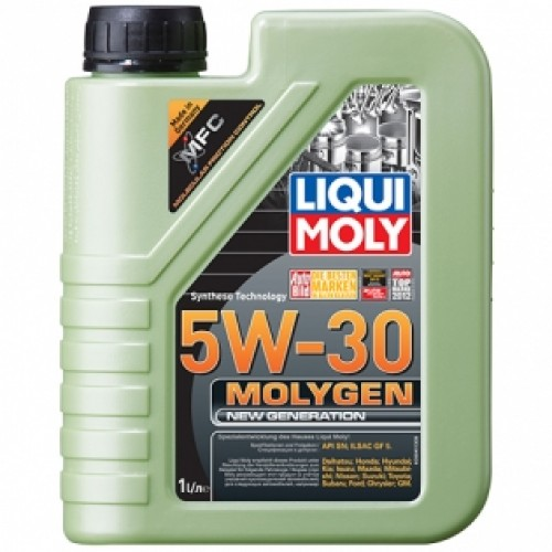 Масла моторные Моторное масло Liqui Moly MOLYGEN NEW GENERATION 5W-30 (1л.)  арт. 9041
